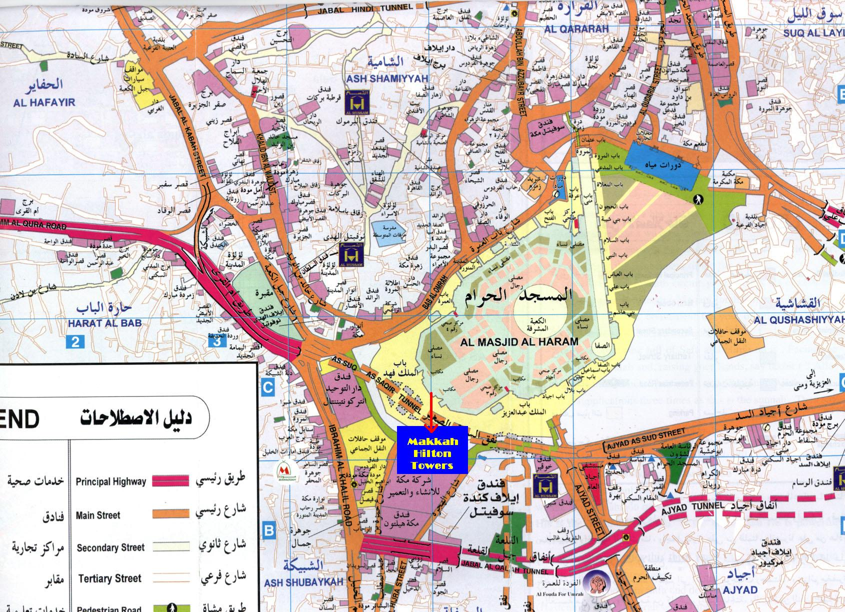 Map Of Mecca Check Out Map Of Mecca cnTRAVEL